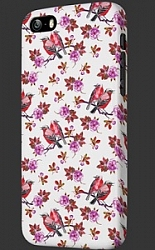Чехол OXO Carbon Cover Case для Iphone 6 4.7 Bird Pink