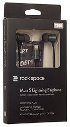 Наушники Rock Mula S Stereo Lighting Space Grey