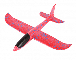 Самолет-бумеранг Foam Airplane Red